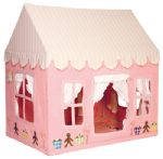 Children's Girls Large Win Green Gingerbread Cottage Playhouse